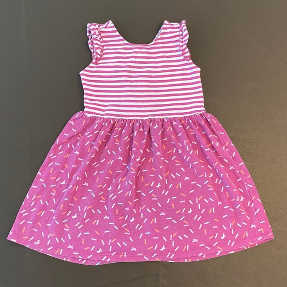 Gymboree Sprinkles Dress with Ruffle Sleeves